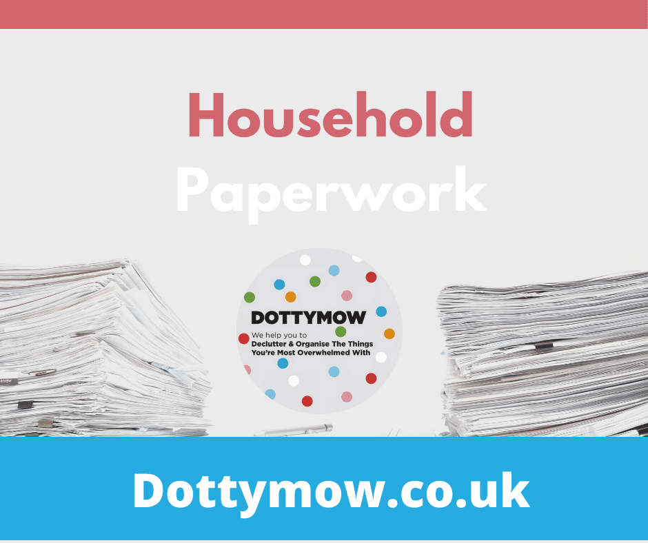 Paperwork, Decluttering and organising services